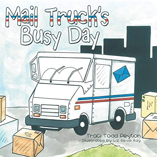 (Mail Truck's Busy Day)