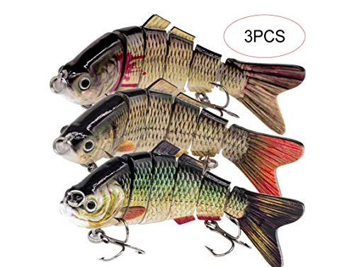 YL OUTDOOR Fishing Lures for Bass 3.9