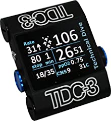 The TDC-3 is designed and manufactured to serve the most demanding divers. Whether the plan is for a shallow warm water reef, running line in a new passage of cave, or penetrating a deep wreck, the TDC-3 provides the information divers need a...