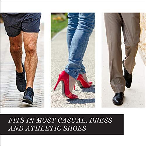 Powerstep Adult Pinnacle Shoe Inserts, Blue, Men's 10-10.5, Women's 12