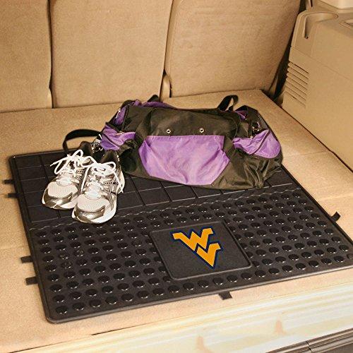 "Fan Mats West Virginia University Car Caddy Heavy Duty Vinyl Cargo Mat/31""x31"""