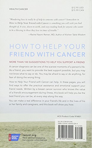 How to Help Your Friend with Cancer - http://medicalbooks.filipinodoctors.org