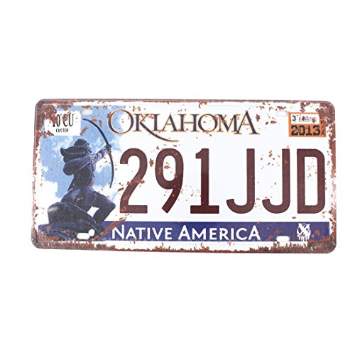 Oklahoma License Plate For Sale Only 4 Left At 65