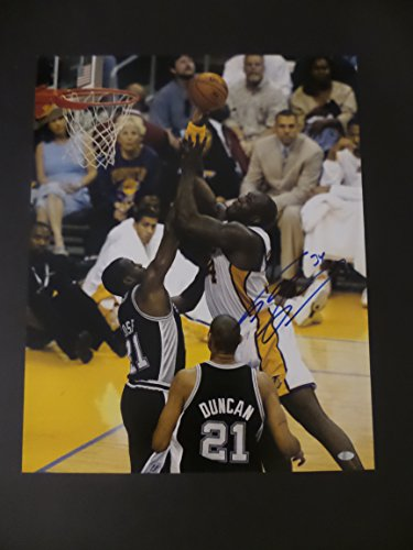 Shaquille O'Neal Signed Los Angeles Lakers Autographed 16x20 Photograph