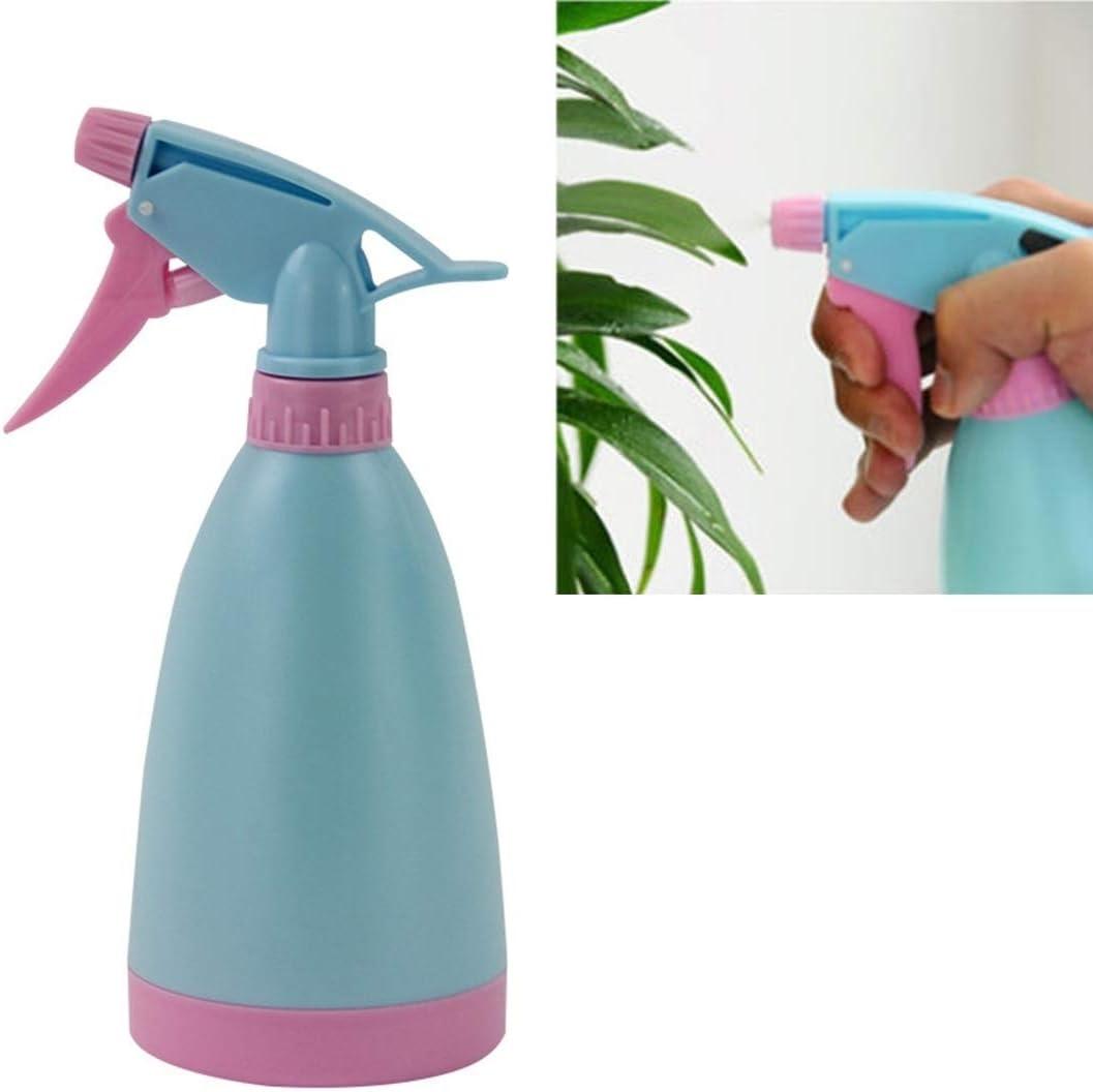 Herramientas de jardinería Herramientas de irrigación para regaderas pequeñas Sembradora Botella para rociar de vivero Presión manual Olla con boquilla ajustable Entrega de color al azar