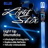 Light Stix LED Light Up Drumsticks (Blue)