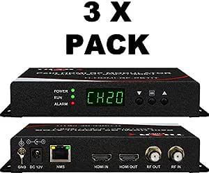 1 Channel HDMI RF Petit Modulator (3 Pack)
