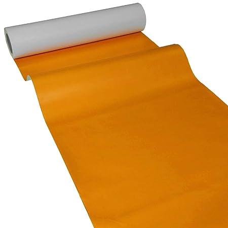 JUNOPAX Mantel de papel, mesa bandas y - Camino, papel, naranja ...