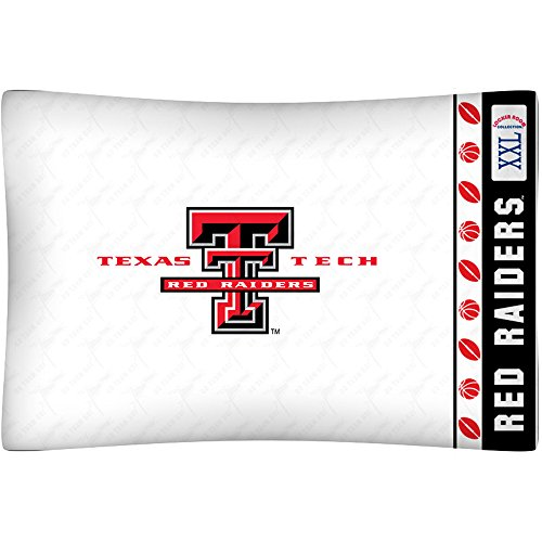 Texas Tech Pillowcase (NCAA Texas Tech Red Raiders Micro Fiber Pillow Case Logo)