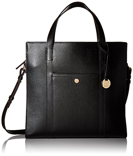 Tote Lodis Mali Black Gold Chic Medium Business Rfid PqrtFrX