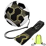 allsprint Soccer Trainer, Football Kick Throw Solo Practice Training Aid Control Skills Adjustable Waist Belt for Kids Adults