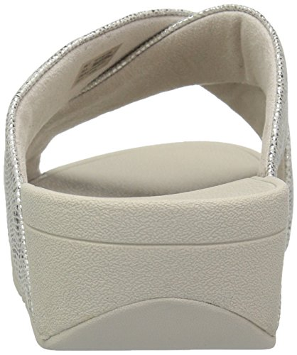 Fitflop Argent Swoop Femme Slide Tongs r411aZqg