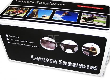 Inshore Fishing Hands Free Mini DVR Camcorder Sunglasses