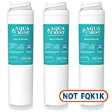 zero water inline - AQUACREST GXRLQR Replacement for GE SmartWater Twist and Lock In-Line GXRLQR Water Filter(Pack of 3)