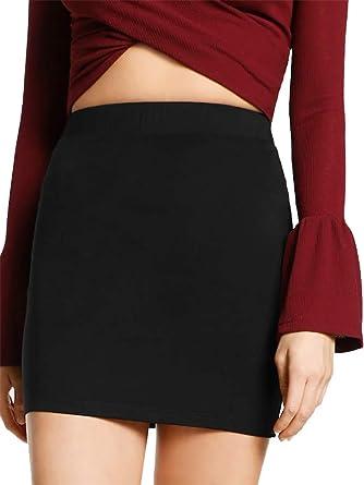 Pretty Fashion mini falda corta sexy para mujer, mini falda ...