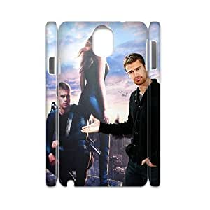 3D Tyquin Theo James for Samsung Galaxy Note 3 Cases Theo James Divergent, [White]