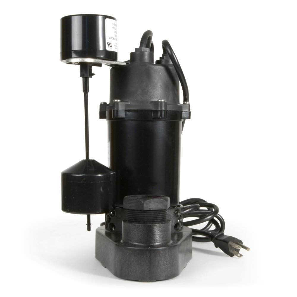 ECO-FLO Products SPP33V Thermoplastic Sump Pump with Vertical Switch, 1/3 HP, 3,600 GPH by ECO-FLO Products (Image #9)