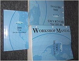 06 mustang wiring diagram 2006 ford mustang gt cobra service shop manual set oem  service  2006 ford mustang gt cobra service shop