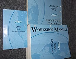2006 ford mustang gt cobra service shop manual set oem service rh amazon com 2012 Ford Mustang Owners Manual Ford Mustang Manual Transmission