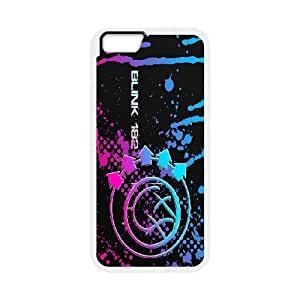 Custom High Quality WUCHAOGUI Phone case Blink 182 Pattern Protective Case For Apple Iphone 6 Plus 5.5 inch screen Cases - Case-14