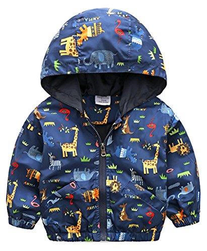 Kids Hooded Jacket Coat - 4
