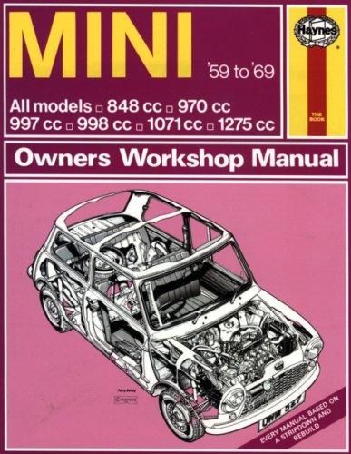 haynes mini owners workshop manual no 527 1959 1969 all models rh amazon com morris mini service manual Morris Mini Minor