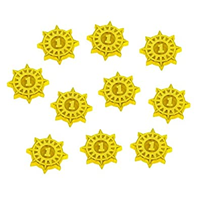WHU: Spire, Glory Point Tokens, Transparent Yellow (10) from Litko Game Accessories