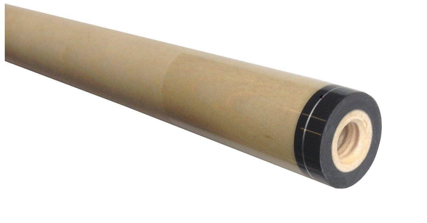 アスカ3 / 8 x 10ピン13 mm Extraスペアシャフト、ブラック襟withリング。カナダHard Rock Maple B07BRBQYNY