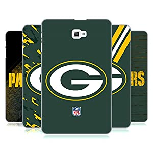 Official NFL Green Bay Packers Logo Hard Back Case for Samsung Galaxy Tab A 10.1 (2016) from Head Case Designs