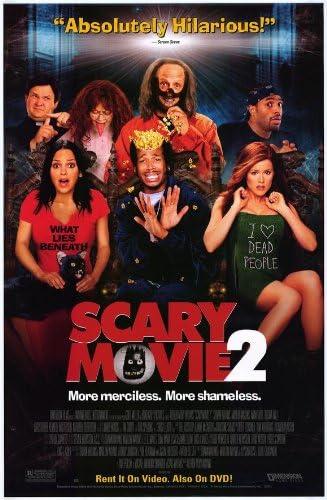 Amazon Com Scary Movie 2 Movie Poster 27 X 40 Inches 69cm X 102cm 2001 Anna Faris Tim Curry Shawn Wayans Marlon Wayans Chris Elliott Tori Spelling Prints Posters Prints