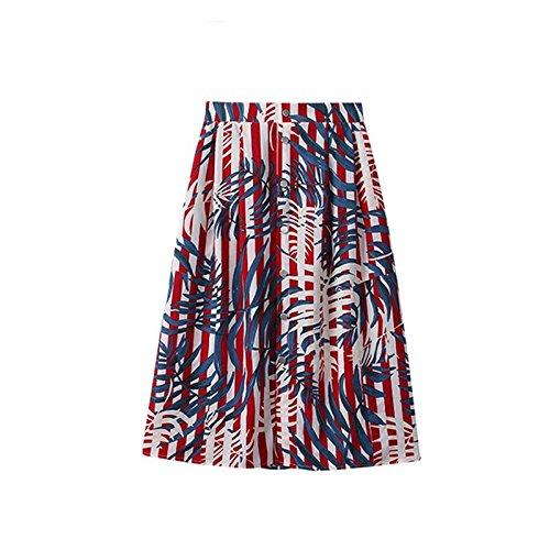 Robe Deux de 2018 de Jupe MiGMV 2XL Jupe Mousseline Robes Robe Nouvelle Robe Femme Petite l't Frais Courte 6w5q1zA1