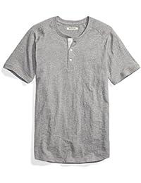 Men's Short-Sleeve Slub Henley Tee