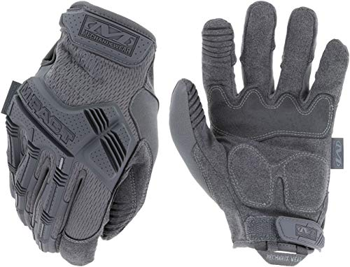 - Mechanix Wear - M-Pact Wolf Grey Tactical Gloves (X-Large, Grey)