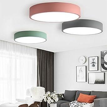 HomeLava 36W Plafonnier LED Lampe de Plafond Blanc Froid ...