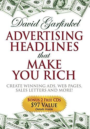 Amazon advertising headlines that make you rich create winning advertising headlines that make you rich create winning ads web pages sales letters spiritdancerdesigns Image collections