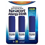 Nasacort Allergy 24-Hour Spray, 3 pk./0.57 oz. (pack of 6)