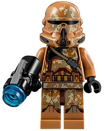 LEGO Star Wars Geonosis Airborne Clone Trooper Loose Minifigure