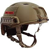 OneTigris BJ Type Tactical Lightweight Fast Helmet for Airsoft Paintball (Tan)