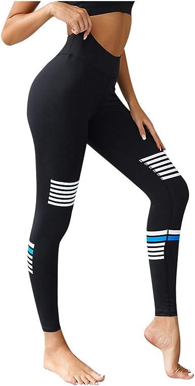 Yoga Legging Femme Taille Haute Anti Cellulite Minceur Skinny Push Up Fesse Élastique Pantalon de Course Fille Amincissant Collants de Sport Fitness
