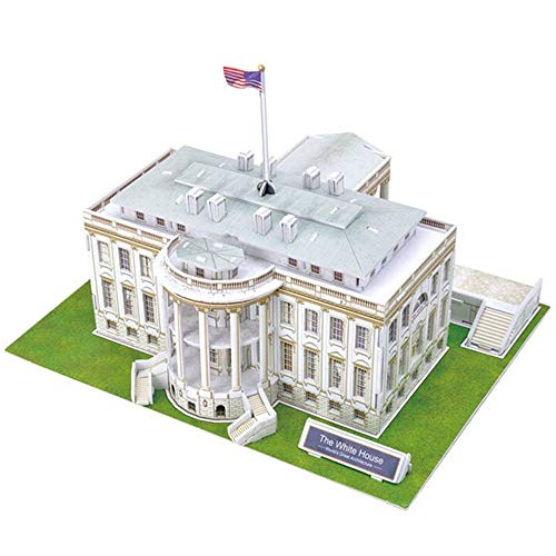 Liberty Imports The White House 3D Puzzle, 64 Pieces