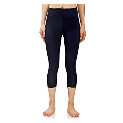ce8d7081067af believelf Women's Stretch Yoga Capri Pants Legging Quick-Dry Gym Pants  Running Sports Workout Pants