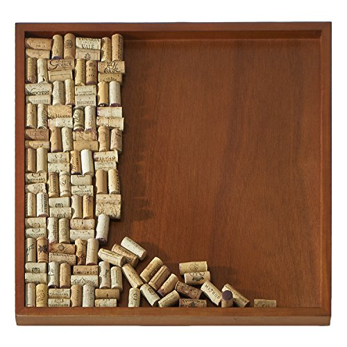 Wine Enthusiast DIY Wine Cork Board Frame Kit by Wine Enthusiast
