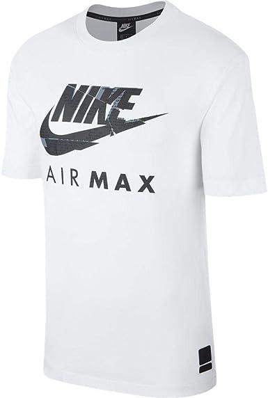 Nike Air Max Camiseta de manga corta para hombre: Amazon.es: Ropa y accesorios