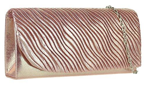 femme Rose pour Pochette Handbags Girly wqTHZxX8