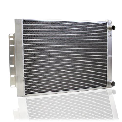 Griffin Radiator 8-00009-LS Dominator Series Universal Fit Cross Flow Radiator for 67-69 Camaro/64-65 Chevelle with LS1-LS2-1st- LS3