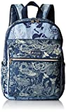 Sakroots Women's Artist Circle Cargo Backpack, Denim Peace