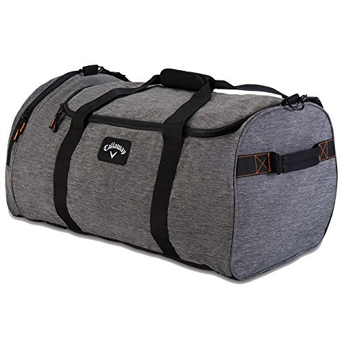 Callaway Golf 2015 Clubhouse Large Duffle Holdall Duffel Bag 5916108 – Charcoal by Callaway – DiZiSports Store