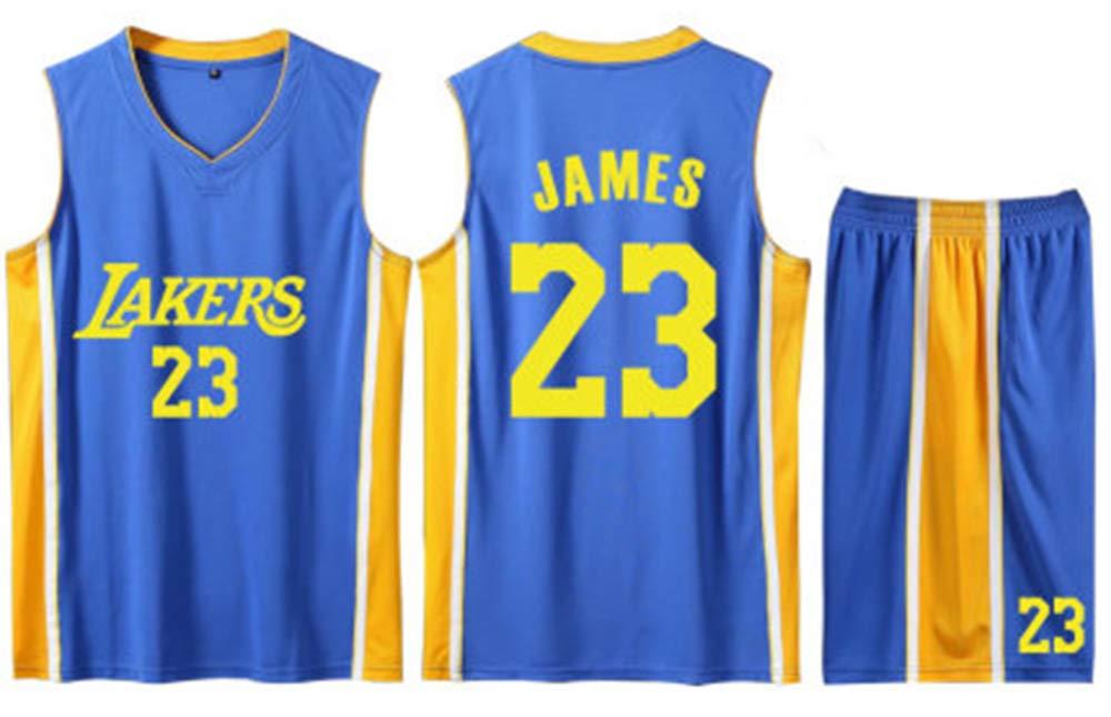 FDRYA Lebron James # 23 Jersey De Baloncesto para Hombre Lakers ...