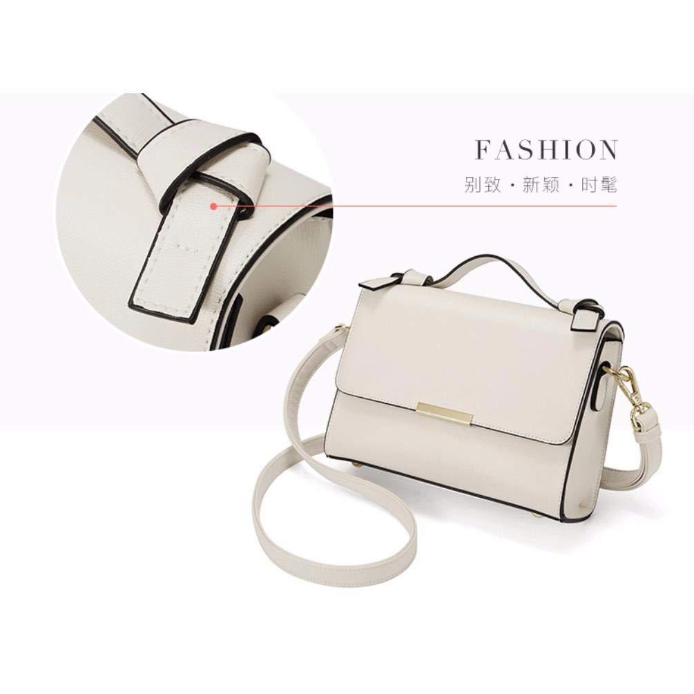 IANXI Home Fashion Trend Female Handbag Large Bag Retro Handbags Casual Shoulder Bag Messenger Bag for Women Color : Beige