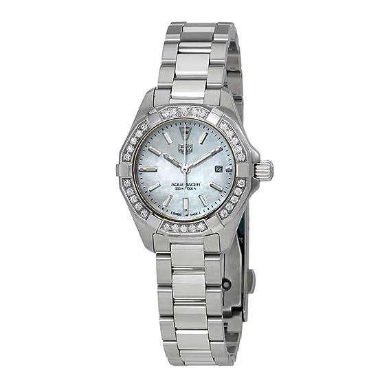Tag Heuer WBD1413.BA0741 - Reloj de pulsera para mujer con esfera de nácar y